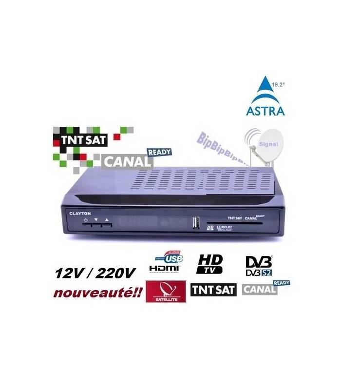 Decodeur satellite tnt sat philips tntsat camping 12v - Tnt par satellite sans decodeur ...